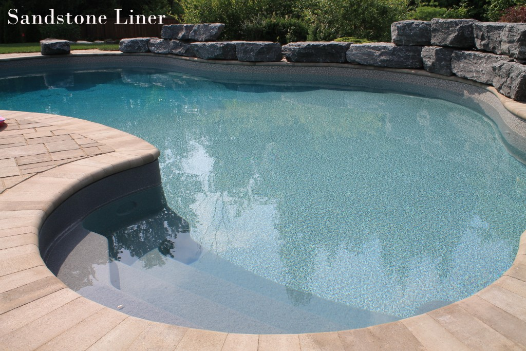 Sandstone pool builders ltd - Witte pool liner ...